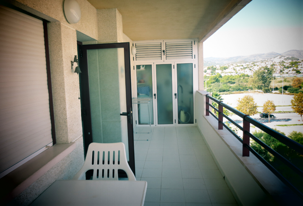terras appartement in Calpe
